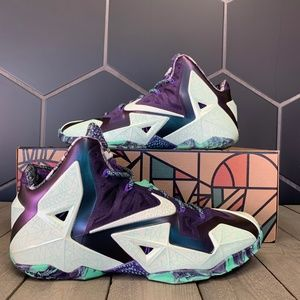 Nike Lebron XI 11 All Star Gator King Shoes Sz 11